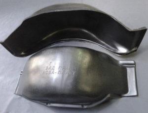 Подкрылки газель Некст 2705 задние фургон комплект цельнометаллическая