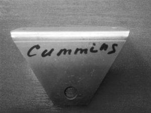 Кронштейн крепления радиатора Cummins верхний
