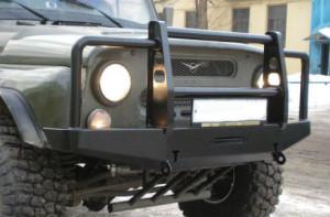Бампер силовой УАЗ Патриот Hunter 452