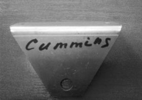 Кронштейн крепления радиатора Cummins верхний 3302-1302088-20